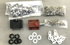 various types of accessories for production